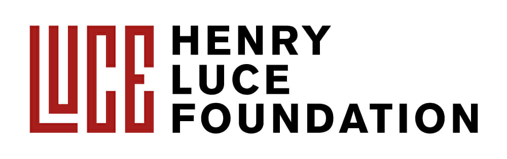 henry luce foundation logo, has red graphic of name 'Luce' on left and words Henry Luce Foundation on right.