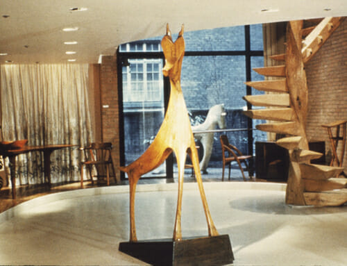 The Furniture and Sculpture of Wharton Esherick: A Retrospective at the Museum of Contemporary Crafts