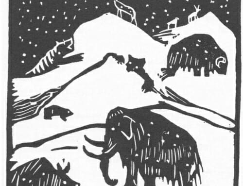 Esherick's Winter Woodcuts