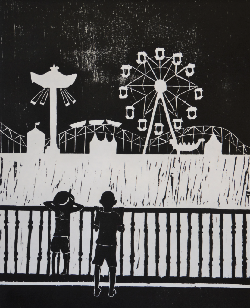 "Susie Griffith, The Christian Academy, ""Amusement"""